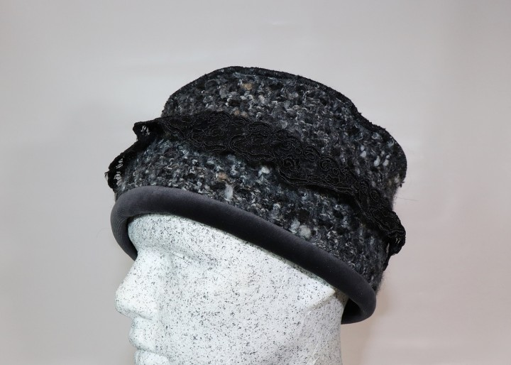 Bohemien Toque in grau