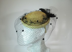 Fascinator kleine Pillbox