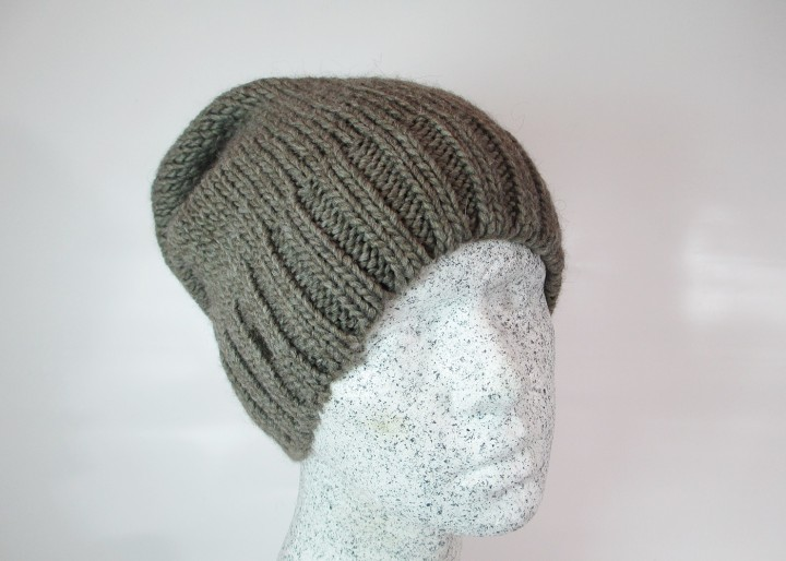 Alpaca Woll Slouch taupe